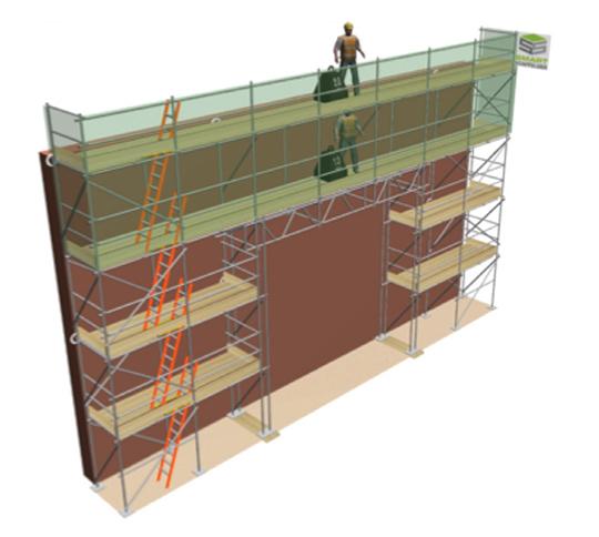 scaffolding illustration